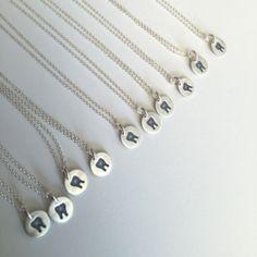 Tooth necklace for a dentist, dental hygienist, or dental assistant! www.hygieneedge.com