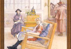 Carl Larsson-gården – War välkommen kära du, till Carl Larsson och hans fru! Carl Larsson, War, Painting, Instagram, Artists, Places, Tatuajes, Lugares, Painting Art