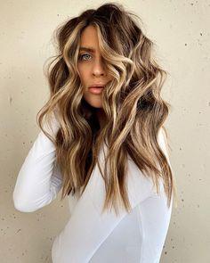 Honey Brown Hair Color, Brown Hair Colors, Purple Hair, Hair Color Streaks, Hair Highlights, Hair Colour, Haircut And Color, Hair Dos, Balayage Hair