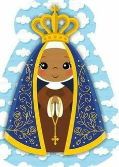 Assunção Shark Party, Holy Mary, Blessed Virgin Mary, Blessed Mother, Silhouette Projects, My Images, Decoupage, Mandala, Aurora Sleeping Beauty