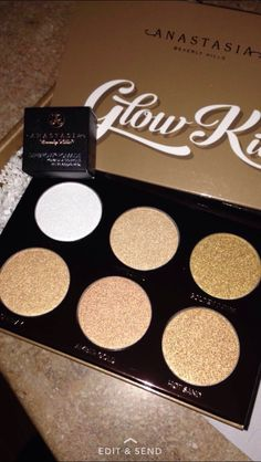 ABH ultimate glow kit and dipbrow