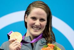 Missy Franklin. She looks like she's the world's nicest person.