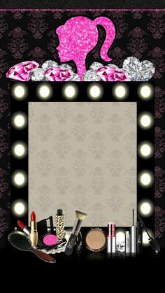 Makeup Backgrounds, Makeup Wallpapers, Pretty Wallpapers, Wallpaper Backgrounds, Cute Wallpaper For Phone, Cellphone Wallpaper, Iphone Wallpaper, Farmasi Cosmetics, Eyebrow Embroidery