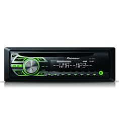 Pioneer CD Tuner with Front USB/Aux-in and Green Illumination Car Audio, Multimedia, Ipod, Green, Centre, Xmas, Character, Musik, Christmas