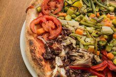 La ricerca delle #materieprime è un nostro punto di forza! Ecco la nostra #pizza #vegetariana.