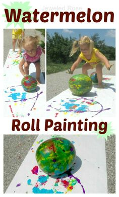 Summer Fun - Wacky Watermelon Day ~ Growing A Jeweled Rose Source by Summer Camp Crafts, Summer Activities For Kids, Camping Crafts, Summer Kids, Toddler Activities, Preschool Activities, Indoor Activities, Family Activities, Watermelon Activities