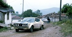 S. Mehta with Datsun Violet 160J