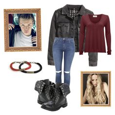 """""""Maze Runner #11"""" by fangirl-in-the-us ❤ liked on Polyvore featuring H&M, Topshop and American Vintage"""