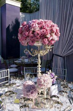 Centros de mesa para bodas