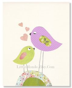 I love My Mom  8x10 Personalized Nursery Print Baby by LittleMonde, $15.00