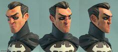 Bruce Wayne by Olivier Couston | Cartoon | 3D | CGSociety
