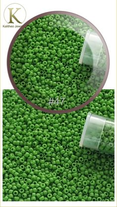 #beads #beading #seedbeads #beadsupply #craftsupply  Green Mint Opaque Round Toho Seed Beads Size 11/0 - Japanese Seed Beads are the finest in the world. These Far Eastern manufacturers have a well-deserved reputation for achieving greater uniformity and consistency of size, shape and finish. Visit our jewellery supply section @ kalitheo.com.au for our range of findings and beads.