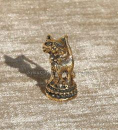 """Фигурка """"Кот с бантом"""" Артикул: 14-М-071 Материал: Бронза Цвет: Бронза Размер: 15*15*25 300 руб."""