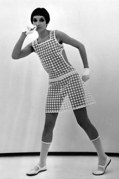14 amazing vintage Courrèges, photos from 1960: