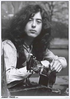 A fantastic portrait poster of Led Zeppelin guitar wizard Jimmy Page in 1970! Ships fast. 24x33 inches. Ramble on over and check out the rest of our incredible selection of Led Zeppelin posters! Need