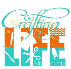 Crafting LIFE Cutting File Studio 3 by RatchetCatDesigns on Etsy