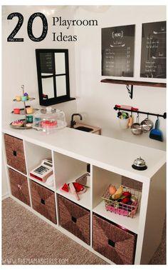Small Playroom, Toddler Playroom, Playroom Design, Playroom Decor, Playroom Layout, Small Kids Playrooms, Boys Playroom Ideas, Modern Playroom, Small Kids Rooms
