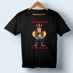 Screaming Smile T-shirt //Price: $14.50//     #cheapshirts