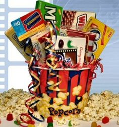 """""""Rave Review"""" Movie Gift Basket: Amazon.com: Grocery & Gourmet Food"""