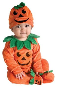 Rubie's Costume My First Halloween Lil Pumpkin Jumper Costume, Orange, Newborn #Rubies #Costume #First #Halloween #Lil #Pumpkin #Jumper #Orange #Newborn
