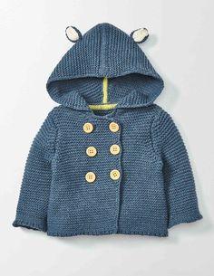 Indigo Knitted Jacket