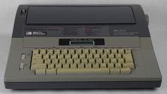 Smith Corona Word Processing Typewriter SD 670 Memory Correction JARFF