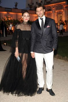 Olivia Palermo saved her best Couture Fashion Week look for last! She wore a stunning tulle Valentino dress for the Italian house's fashion show in Rome. Estilo Olivia Palermo, Olivia Palermo Outfit, Olivia Palermo Style, Gwyneth Paltrow, Fashion Couple, Fashion Show, Style Fashion, Couture Fashion, Fashion Beauty