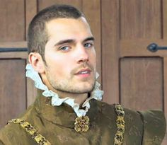 Henry Cavill from the tudors