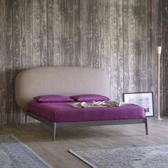 Shiko bed with upholstered headboard - ARREDACLICK