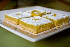 Recipe Exchange: Lemon Cream Cheese Bars