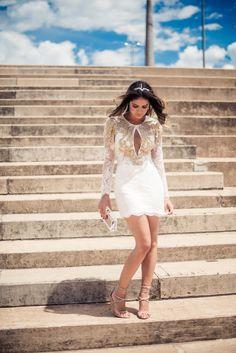 Thassia Naves veste linha da Pat Bo