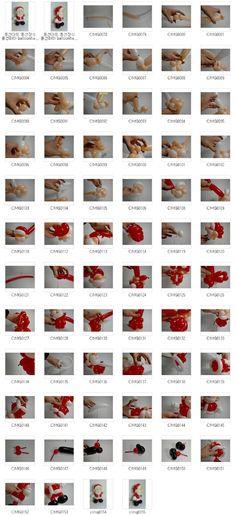 풍선하하 balloonhaha ㅡ 원본 사진 ㅡ 큰 사진은 이메일로 보내드립니다: 교육용 096 산타