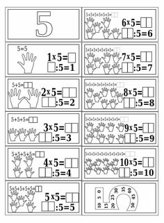 Mnozenje i dijeljenje do 100 Mental Maths Worksheets, Math Activities, Teaching Multiplication, Teaching Math, Fractions, 1st Grade Math, Math Class, Math Sheets, Aperol