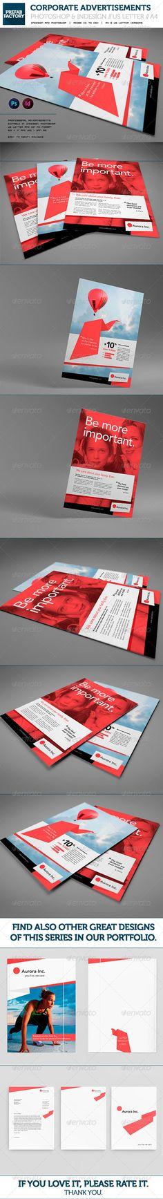 GraphicRiver Corporate Flyers Advertisement Multipurpose