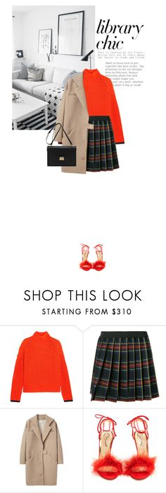 """""""16/09/2017"""" by riennise ❤ liked on Polyvore featuring Victoria, Victoria Beckham, P.A.R.O.S.H., Cacharel, Charlotte Olympia and Mulberry"""