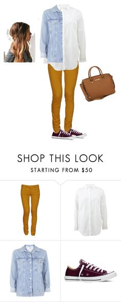 """Untitled #29"" by trendygirlxx on Polyvore featuring 40WEFT, Brunello Cucinelli, Topshop, Converse, MICHAEL Michael Kors, women's clothing, women, female, woman and misses"