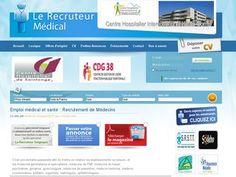 Recruteur ou en recherche d'emploi dans le domaine médical, vous trouverez votre bonheur sur lerecruteurmedical.fr