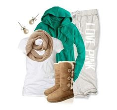 Lazy day outfit, but sooooo cute. Love it!