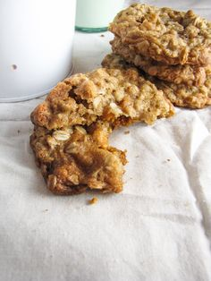 Oatmeal Scotchies - my favorite childhood cookie :)