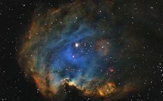 NGC 2174 Nebula wallpaper