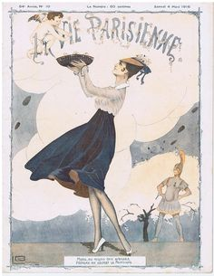 Georges Léonnec (1881 – 1940). La Vie Parisienne, 4 Mars 1916.  [Pinned 22-vii-2015]