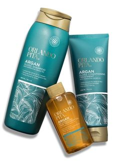 Orlando Pita Haircare Branding & Packaging on Packaging Design Served