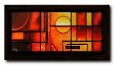 cuadros al oleo (abstractos bodegones modernos decorativos)