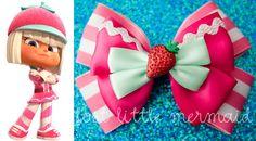 "Sugar Rush Inspired Bow / Taffyta Muttonfudge - ""Stay Sweet"". $9.00, via Etsy."