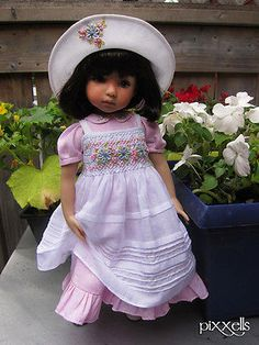 "Heirloom Smocked Set Dianna Effner Little Darlings 13"" Studio Dolls by Pixxells 