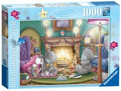 Amazon.com: Me to You Tea for Two Jigsaw Puzzle, 1000-Piece: Toys & Games