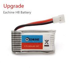 Upgrade Eachine H8 Mini H8 3D Battery 3.7V 260mAh RC Quadcopter Spare Parts