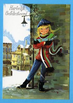 Items similar to Vintage postcard Mod girl hiding for the snow. on Etsy Vintage Greeting Cards, Vintage Postcards, Snow Pony, Apple Head Dolls, Aria, Mod Girl, Modern Pop Art, Handmade Card Making, Michel