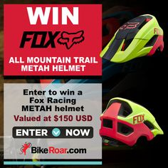 BikeRoar - WIN a Fox Racing METAH mountain biking helmet - http://sweepstakesden.com/bikeroar-win-a-fox-racing-metah-mountain-biking-helmet/