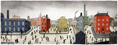 Google Doodle: L.S. Lowry's
